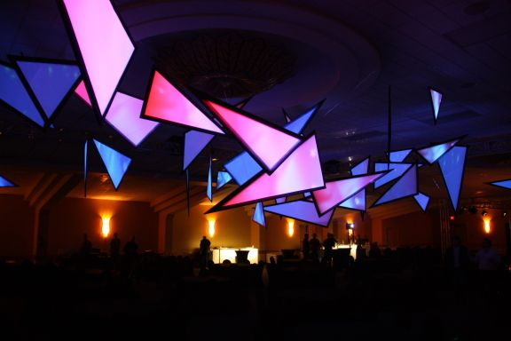 CHRISTIE DIGITAL - Projection Mapping Environment by Tom Kuo, via Behance