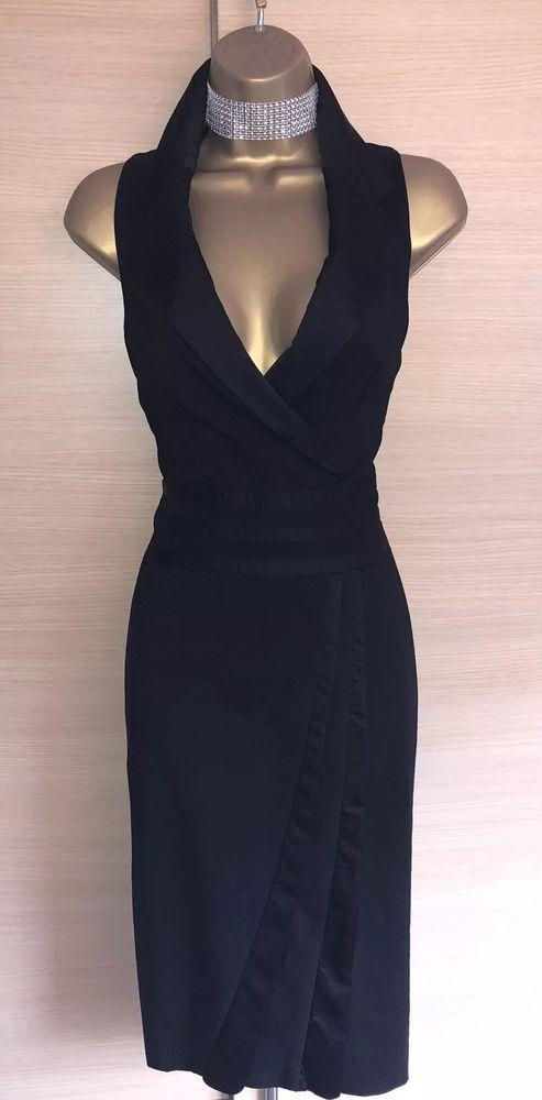 ef0ff8b8e87d Exquisite Karen Millen Black Tuxedo Lace Back Pencil Dress Uk10 #fashion # clothing #shoes #accessories #womensclothing #dresses (ebay link)
