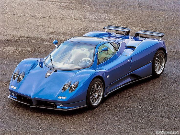 Pagani Zonda C12 De 1999. Motor Mercedes Benz V12 De 394 CV.