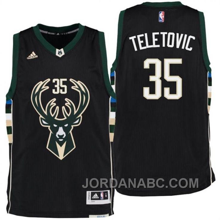 http://www.jordanabc.com/mirza-teletovic-milwaukee-bucks-new-swingman-black-alternate-jersey-for-sale.html MIRZA TELETOVIC MILWAUKEE BUCKS NEW SWINGMAN BLACK ALTERNATE JERSEY FOR SALE Only $69.00 , Free Shipping!