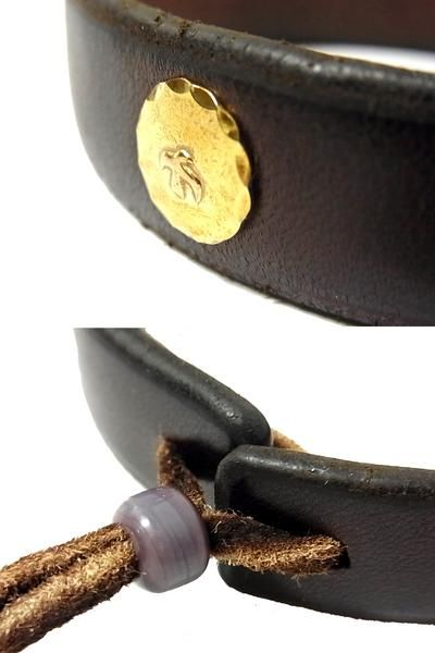 Rakuten: Leather bracelet (WINGROCK with the goro's Goro's gold metal- Shopping Japanese products from Japan
