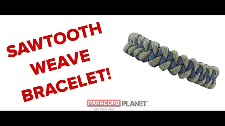 How to make a Sawtooth/Shark Jawbone Paracord Bracelet - Paracord Planet...