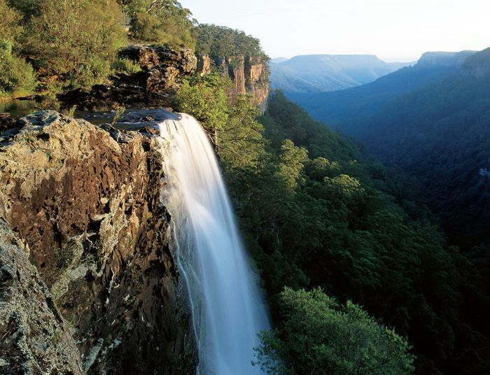 The beautiful Fitzroy Falls, Morton National Park