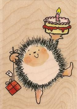 Penny Black Stamps - Love her hedgehogs - think they should be stitchery or needlepunch!