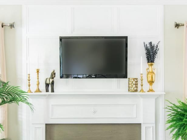 The experts at DIYNetwork.com share easy instructions on how to hide cables using budget-friendly molding.