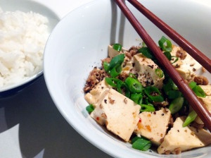 more at wednesdaysdinner.com #braised #pork #mince and #tofu #wednesdaysdinner