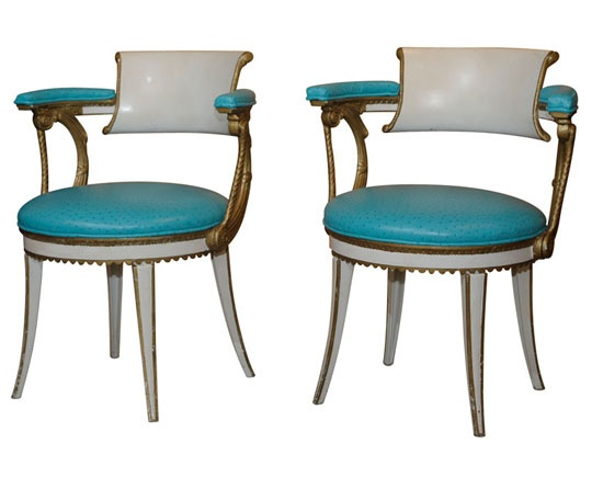 Amazing Best Colorful Chairs From Antique Shops In San Francisco