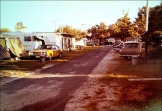 """Banksias Caravan Park, Noosa Queensland late 1970s....There's now a shopping complex here....""""take paradise and put in a parking lot with shopping complex""""...this was so much more lay back."""