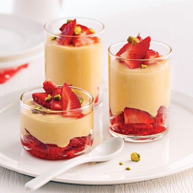 Le parfum subtil du whisky mélangé à l'érable, aux fraises et aux pistaches excitera à coup sûr vos papilles!