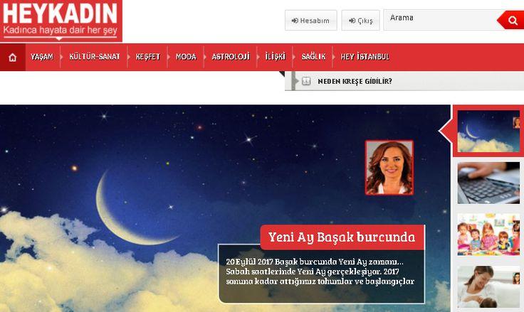 Sevgi Şahin - Heykadın'a yazdı... YENİ AY BAŞAK BURCUNDA  http://www.heykadin.com.tr/yeni-ay-basak-burcunda/  #yeniay #başak #burçlar #astroloji #sevgişahin #enerjiakademisi