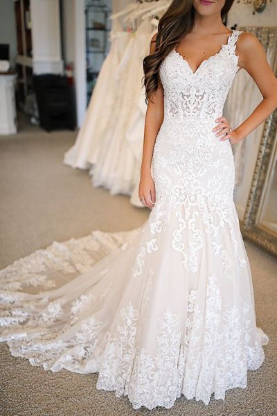 Looking for a beautiful wedding dress for your bid day? Simidress have large selection of 100% tailor made bridal dresses for option, free shipping! #weddingdresseslace #weddingdressmermaid #weddingdresscheap #bridaldresses