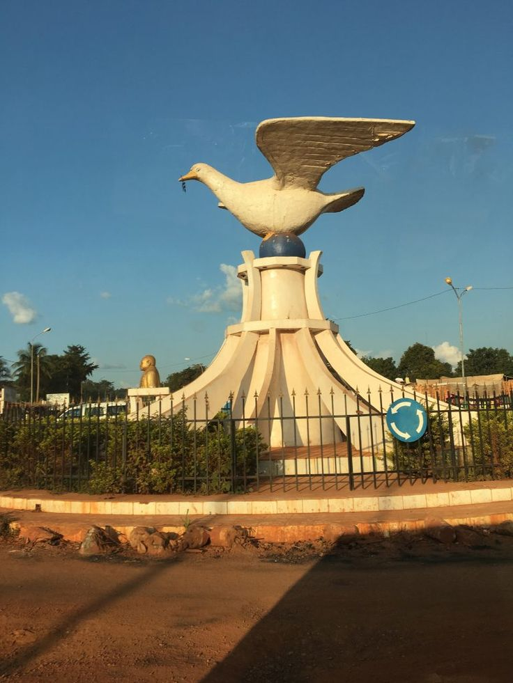 My Experience in the Central African Republic, Central African Republic, Bangui, monument