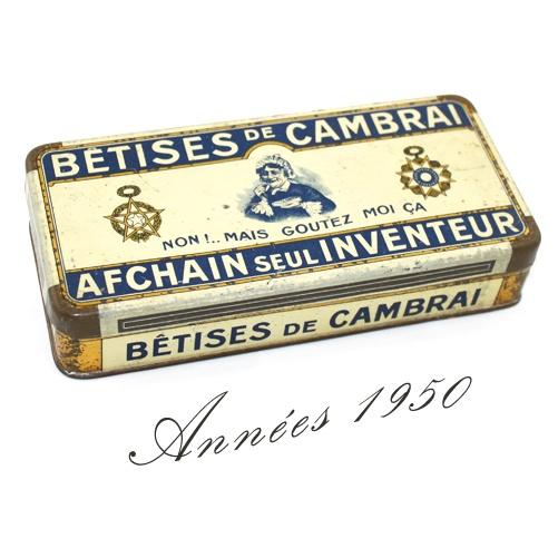 Top box glass vintage tin