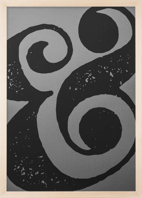 Ampersand 1 - Screen Print 50x70cm