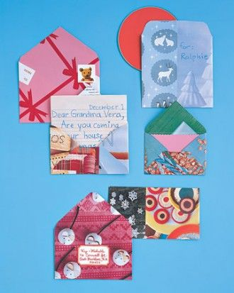 """See the """"Festive Envelopes"""" in our Easy Christmas Ideas gallery"""