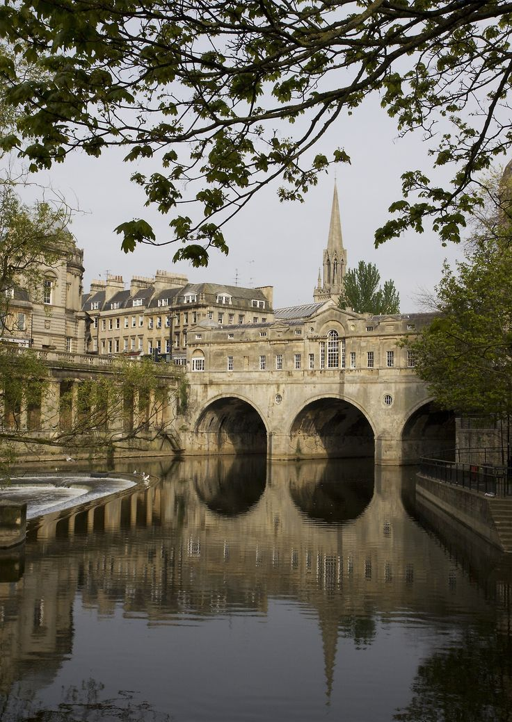 "classicalbritain: "" Pulteney Bridge, Bath - England (by Michael Maggs) """