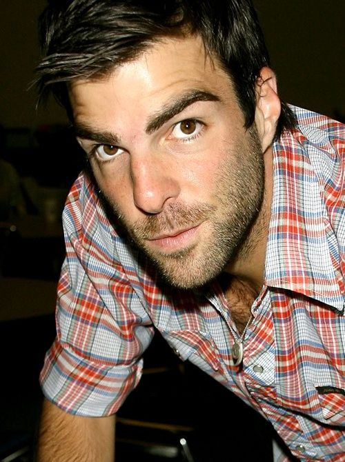 Zachary Quinto another great actor by heart can't help but beat for. Lol