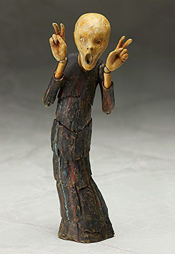 "GOOD SMILE COMPANY F29678 ""Figma The Scream"" Figure: Amazon.co.uk: Toys & Games"