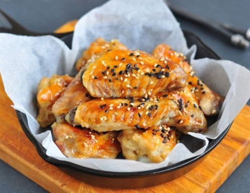 Teriyaki Chicken Wings Rezept
