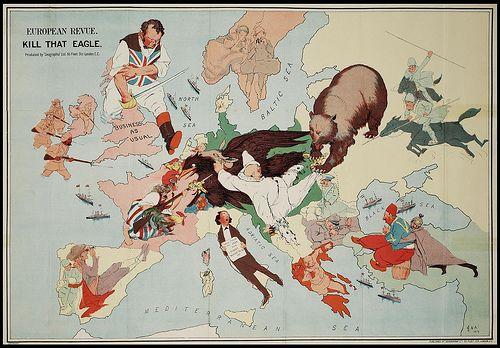 European Revue (Kill That Eagle) 1914 by peacay, via Flickr