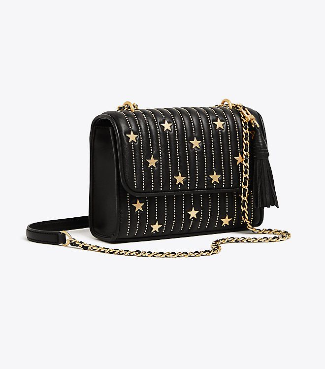 d51275cb0aa Visit Tory Burch to shop for Fleming Star-stud Small Convertible Shoulder  Bag and more Womens Cross-Body Bags. Find designer shoes
