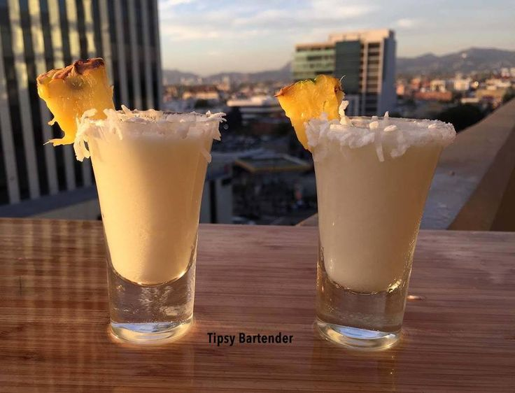 Coconut Rum Cream of Coconut Pineapple Juice Watch us make Piña Colada Shots with Tipsy Girl Brittany!