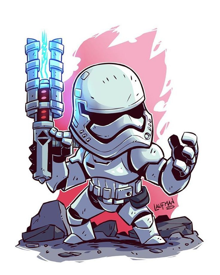 Stormtrooper Star Wars Gifts 2019 Star Wars Cartoon Star Wars Art Chibi