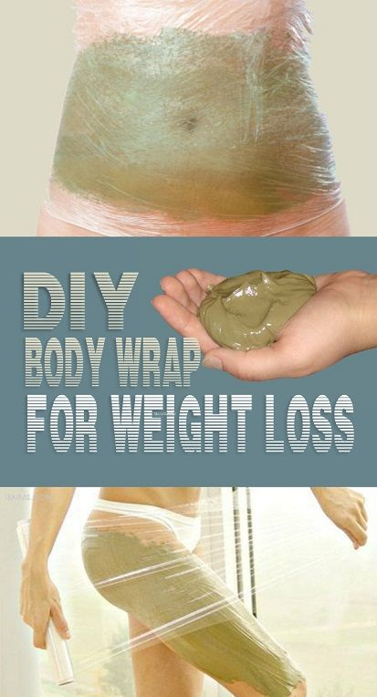 DIY Simple Body Wrap For Weight Loss.