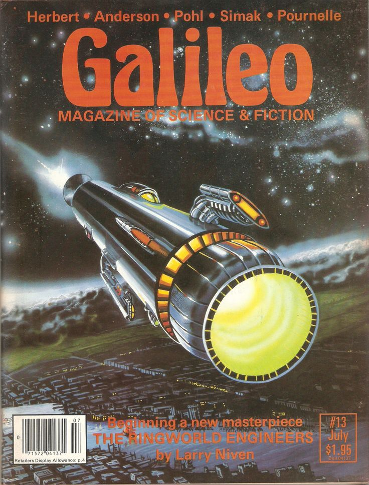 Galileo Magazine of Science Fiction 13 by Francopuces on Etsy