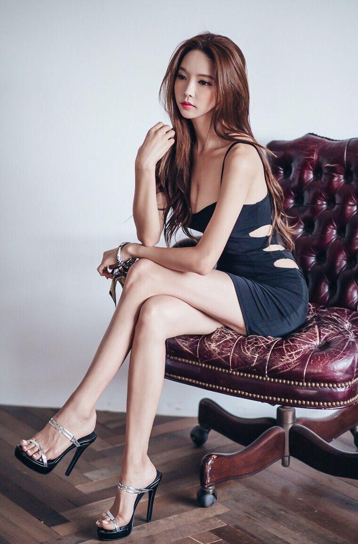 Schöne asiatische sexy Mädchen