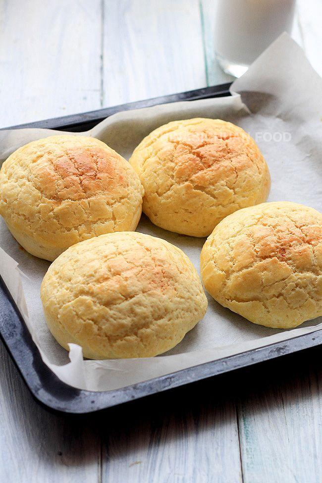 pinapple buns recipe --Bolo Bao | China Sichuan Food