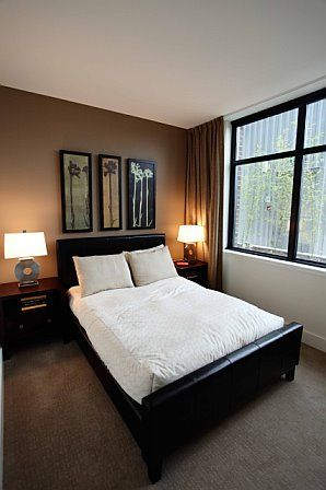 25 best ideas about brown accent wall on pinterest 18480 | ce548ab60002c07a74867b3f680910b8 painting accent walls bedroom accent walls