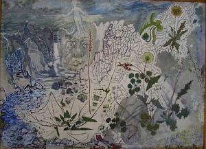 Jóhannes Kjarval - Takið eftir fíflunum og hundasúrunni - make notice of the plants