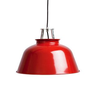 Station Pendant Lamp Red, 75€, now featured on Fab.