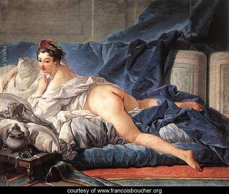 Brown Odalisque (L'Odalisque Brune) 1745 - François Boucher - www.francoisboucher.org