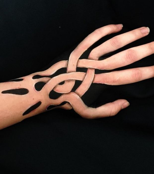Best Body Painting Body Hand Head Belly Images - Unbelievably hyperrealistic body art by choo san