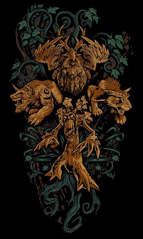Wow Druid Tattoo 17 Best ideas a...