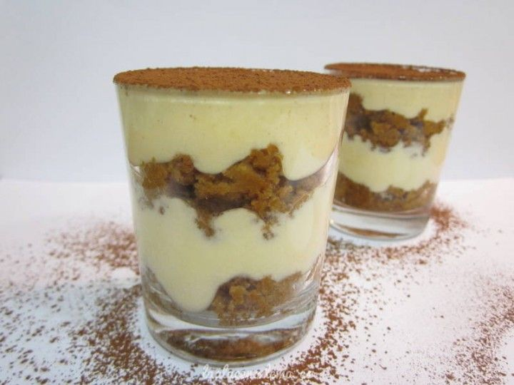Vasitos de tiramisú con Thermomix