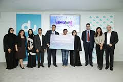 Congratulation! du care is organizing the all UAE SIM's lucky draw every month. With the support of 10 most famous telecommunication companies (Zain, Viva,ooredoo, Mobily,StC, Vodafone etc is selecting the 5 winners for 50000 to 2 lakh cash prizes each month. You can collect more information from our head office Number. and make a du Lucky Draw Winner 2017