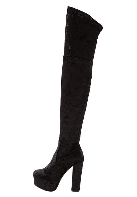 Bestill  Glamorous Boots med høye hæler - black for kr 749,00 (05.10.17) med gratis frakt på Zalando.no