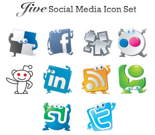 Some alternative free vector icons, including iPhone vectors, iPod vectors, 80s retro vectors and much more! #social #media #icon #set #vector #free