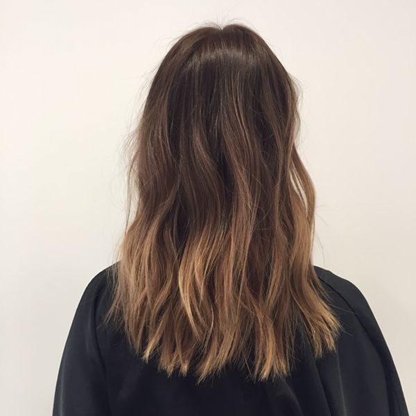 """The Raddest Fall Hair-Color Trends From L.A.'s Top Stylists #refinery29  http://www.refinery29.com/la-fall-hair-color-inspiration#slide-11  Stylist: Tauni DawsonSalon: Nine Zero OneWhat to ask for: Subtle hazelnut pieces concentrated on the bottom half of the hair<a href=""""http://www.ninezeroonesalon.com/"""" rel=""""nofoll..."""