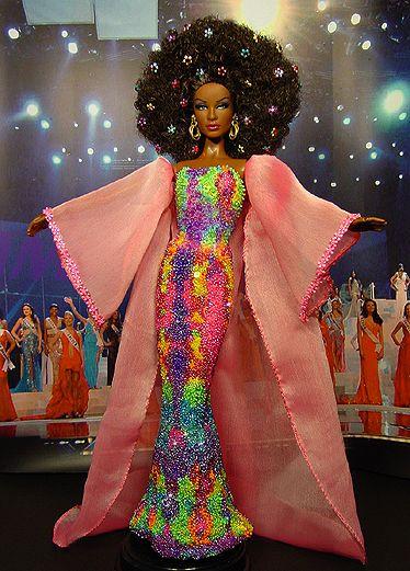 OOAK Barbie NiniMomo's Miss South Africa 2008