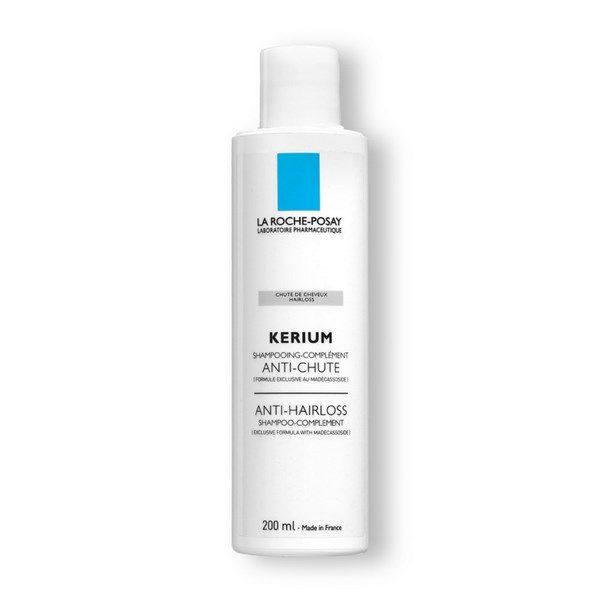 ingredients see: http://www.laroche-posay.com/products-treatments/Kerium/Kerium-Anti-Hairloss-Shampoo-Complement-p571.aspx