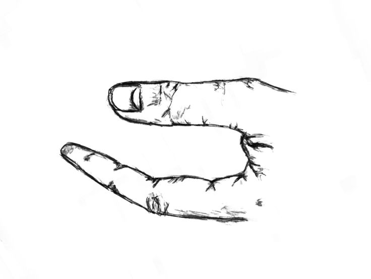 Gimme somethin!  Down and out in Paris and London. George Orwell's hand.  By Rani