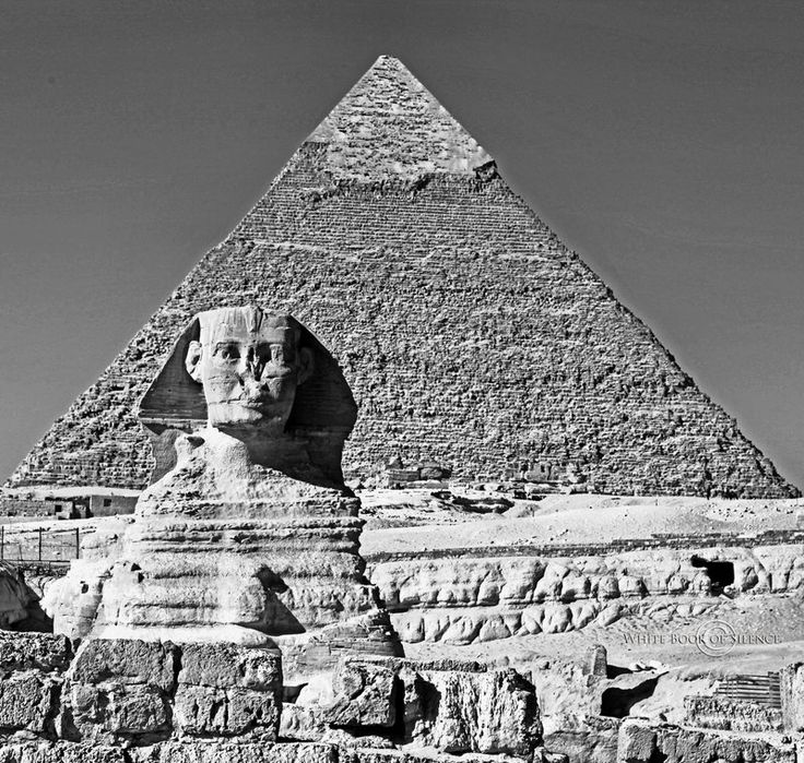 Great Sphinx of Giza by WhiteBook.deviantart.com on @DeviantArt