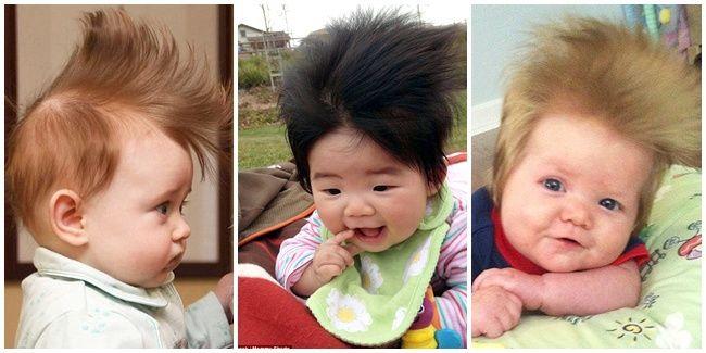 Vemale.com - Mom, lihat deh bayi-bayi ini. Lucu sekali dengan gaya mohawk. Hmm, kenapa ya mereka menggunakan gaya mohawk ini