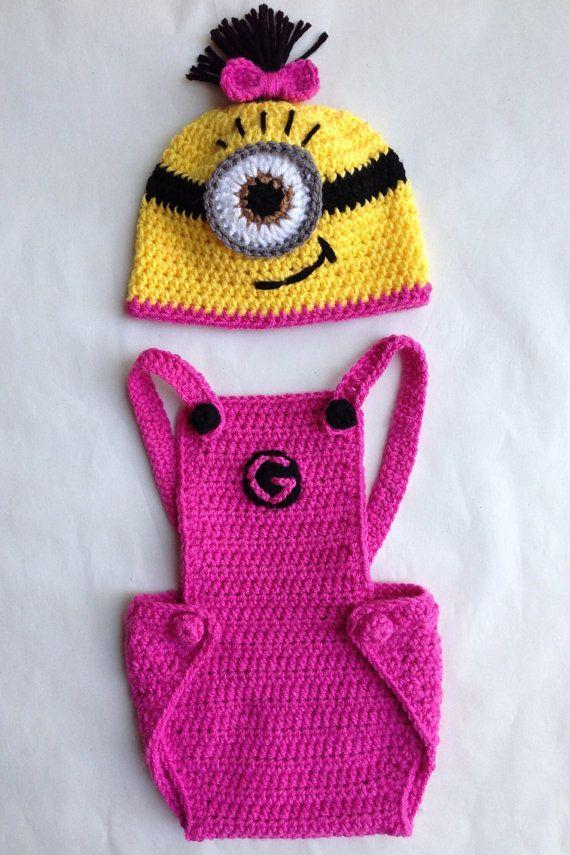 396 best Crochet: Minion images on Pinterest | Crochet minions ...
