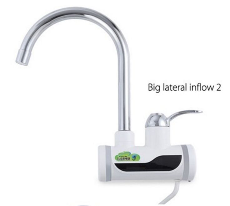 BD3000W-8,free shipping,Digital Display Instant Hot Water Tap,Tankless Electric Faucet,Kitchen Faucet Water Heater