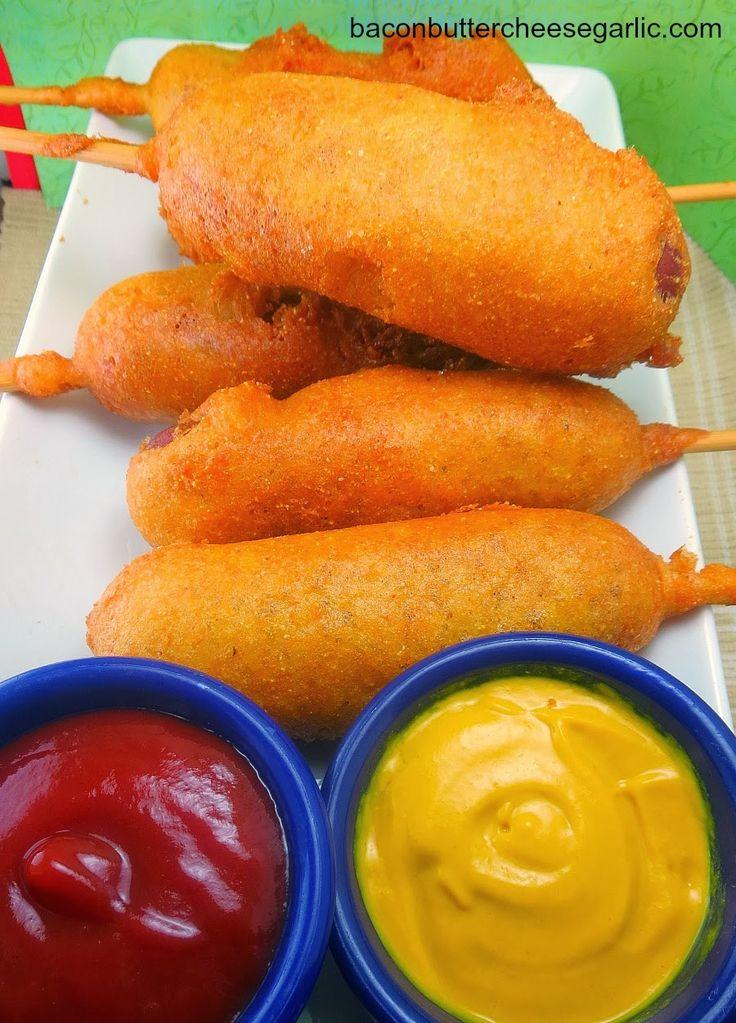 Homemade Corndogs...tastes just like the fair!